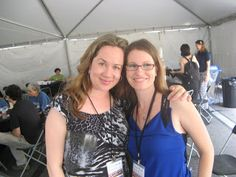 Authors Jennifer Ziegler and Jessica Lee Anderson.