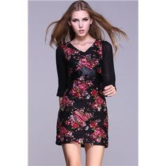 Autumn Dress - High Waist Lace Print Floral Dress #Pariscoming #Paris #fallfashion #fallstyle #falltrends #fallingfor #fall #winterfashion #winterstyle #wintertrends #winterfor #winter #cardi #clothing #inspirational #fashionable #ontrend #stylist #Styling #StreetStyleSeason #streetstyle #fashionblog #fashiondiaries #fashiondiary #WearIt #WhatYouWear If you like,follow me back and find it on our online store.
