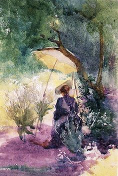 Mildred Anne Butler - Artist Painting