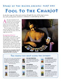 Story of the Major Arcana  Fool to the Chariot