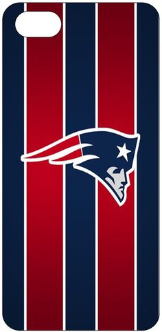 New England Patriots iPhone 5 Hard Snap-On Case - Red | NFL ...
