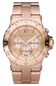 rose gold. michael kors