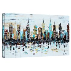 Found it at Wayfair - 'Candyland' by Jolina Anthony Painting Print on Wrapped Canvas