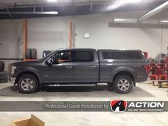 Contour III Series cap installed on this 2016 Ford F150 by our store in Cornerbrook, NL #ProfessionalGradeInstallation