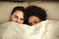 Beautiful interracial couple cuddling close together #love #wmbw #bwwm #favorite ❤