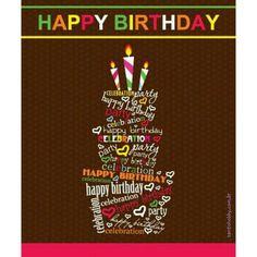 Feliz aniversário!! :) #happybirthday #felizaniversário #parabéns #frases #pensamentos #santohobby