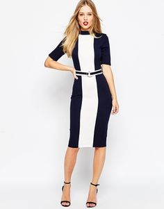 ASOS Color block dress