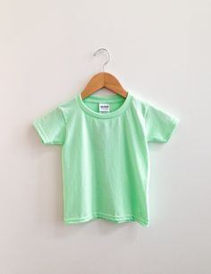 Mint Green, Youth, Cotton, T Shirt, Tops, Women, Fashion, Moda, Tee