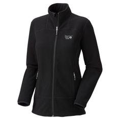 Black Mountain Hardwear women's Toasty tweed fleece mountain climbing jacket.