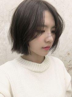 Girl Short Hair, Short Hair Cuts, Hair Style Korea, Medium Hair Styles, Curly Hair Styles, Korean Short Hair, Shot Hair Styles, Pinterest Hair, Asian Hair