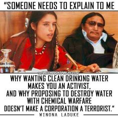 Truth be told...First We stole Their LAND & Now We Are Poisoning it WHAT THE HELL!!!(SHITHEADS!!)