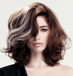 This is what my hair will look like if I let the grey continue to grow (& cut it).