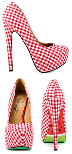 Taylor Says Multi-Color Melons. These are just plain fun. Especially for a pin-up style photo shoot.