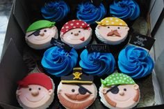 Cute ideas for pirate cupcakes