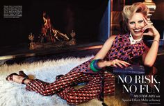 NO RISK NO FUN (Vogue Germany)