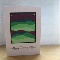 Cardmaking - simple and clean