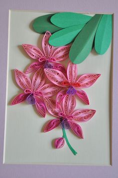 nhipaperquilling: 11/ Paper quilling