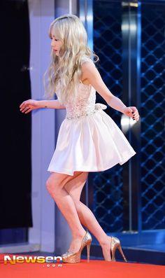151230 Taeyeon @ 2015 KBS Gayo Daechukje Red Carpet
