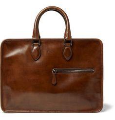 Berluti Un Jour Venezia Leather Briefcase | MR PORTER