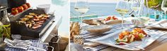 Slavnostne.cz: GRILOVÁNÍ - OBLÍBENÉ RECEPTY Barbecue, Table Settings, Barbecue Pit, Bbq Grill, Table Top Decorations, Bbq, Place Settings, Desk Layout