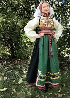Folk Costume, Costumes, Thinking Day, Russian Fashion, Traditional Dresses, Norway, American Girl, Bridal Dresses, Womens Fashion