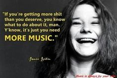 Janis Joplin was an American singer-songwriter who first rose to fame in the late as the lead singer of the psychedelic-acid rock band Big Brother and the Holding Company, and later as a solo act. Rock Quotes, Quotes To Live By, Life Quotes, Change Quotes, Attitude Quotes, Acid Rock, Lyric Quotes, Words Quotes, Sayings