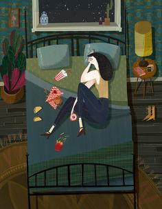Chloe Bristol's Illustrations Beg You to Finish Their Stories