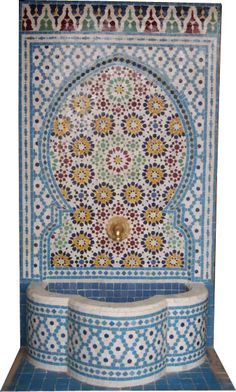 Granada wall fountain
