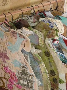 Altered paper dresses   ~~~~What to do with roses dresses/clothes make minis put them on hangers and scrap them!!!!!!! Add picture of original item and go!!!!<3 ~SB