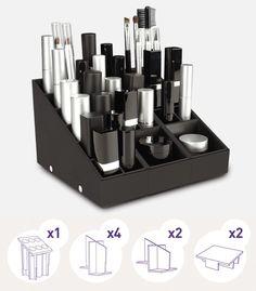 Makeup organizer UNIQ - Makeup storage UNIQ - Indispensable Pack - www.uniqorganizer.com