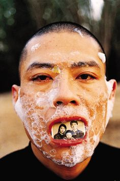 Zhang Huan, Foam Body Photography, Creative Photography, Portrait Photography, Chinese Contemporary Art, Chinese Art, Conceptual Design, Inspirational Artwork, Foto Art, Contemporary Photography