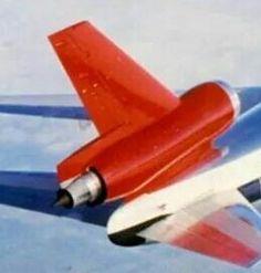 Northwest Orient DC-10 tail