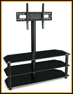 56 reference of black glass floating tv stand, tv stand decor,