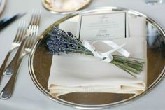 Villa Balbianello wedding reception napkin decor