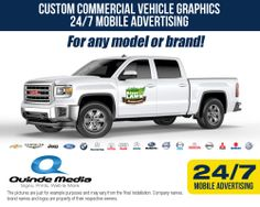 Not just for VAN's is for Pick Up's Trucks to! we develop the image for your business