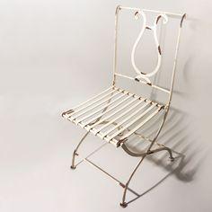 Cadeira de Ferro Dobrável Lira :: Loja Dom Mascate