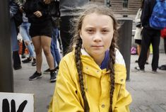 Greta Thunberg The Fifteen-Year-Old Climate Activist Who Is Demanding a New Kind of Politics Greta, Time Magazine, Save The Planet, Barack Obama, Climate Change, Donald Trump, Windbreaker, Girl Fashion, Raincoat
