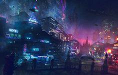 Downtown : Cyberpunk