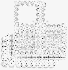 Ivelise Feito à Mão: Squares De Crochê
