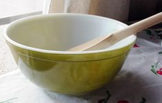 Pyrex Verde 403 Mixing Bowl Nesting bowl
