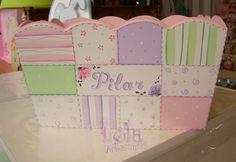 cajas decoradas para bebes - Buscar con Google