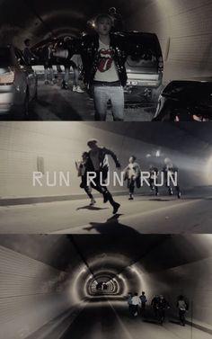 BTS RUN Wallpaper