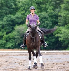 How to Ride First Level Leg Yields~Working through the movements of First Level thoroughly prepares the horse and rider for the next step of training: the introduction to collection and lateral movements. One preparatory tool for this