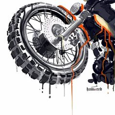 in/ - bike mechanics in hitech city - Motorrad Moto Bike, Motorcycle Art, Bike Art, Motorcycle Outfit, Ducati, Custom Motorcycles, Illustrations Posters, Vintage Posters, Scrambler