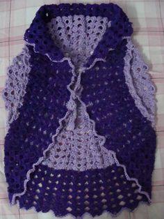 crochet shrug(front side)