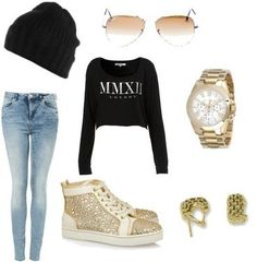 Swag Outfits for Girls | sadecrawford's stylebook on ShopStyle