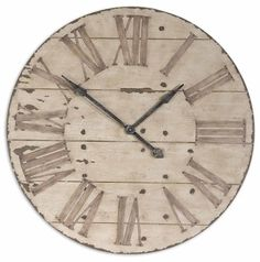 Uttermost 6671 Harrington Clock at Build.com.