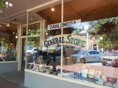 Outside the Dahlonega General Store, Dahlonega, GA....I still have the paper sack from my first trip to the Gen Store!