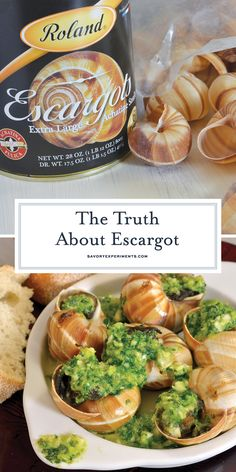 Escargot aren't nearly as difficult to make at home as you might think. Here are a few tips on how to make escargot! for your family Copycat Recipes, Seafood Recipes, Appetizer Recipes, Soup Recipes, Dinner Recipes, Appetizers, Drink Recipes, Recipies, Escargot Recipe