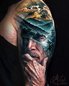 Tattoo art by Arlo DiCristina